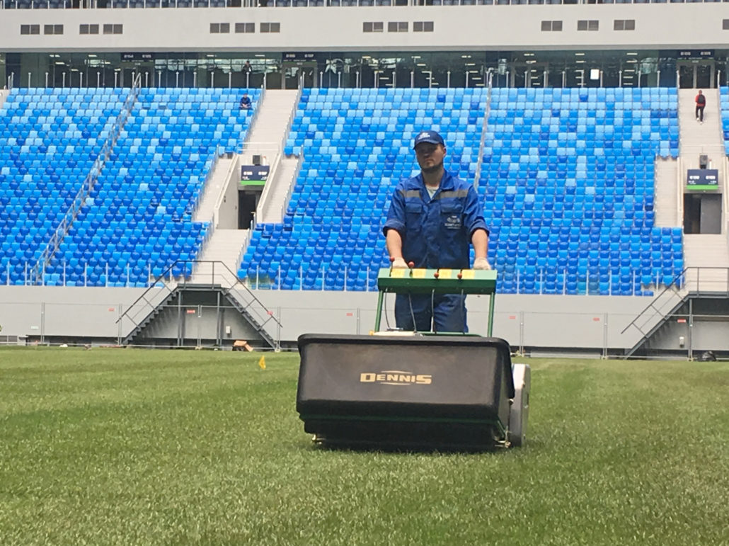 Dennis Selected As World Cup Mower For Third Successive Tournament