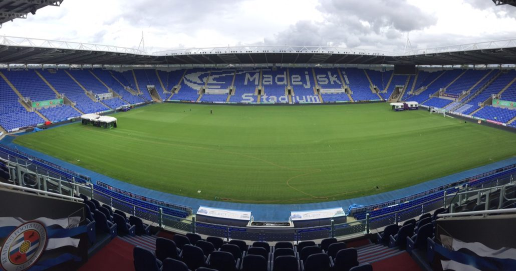 Reading FC Have A Pitch Fit For Royals
