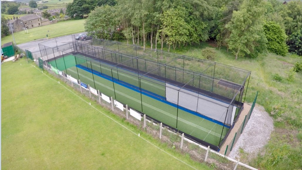 New Non-Turf Practice Nets Impress At Oxenhope CC
