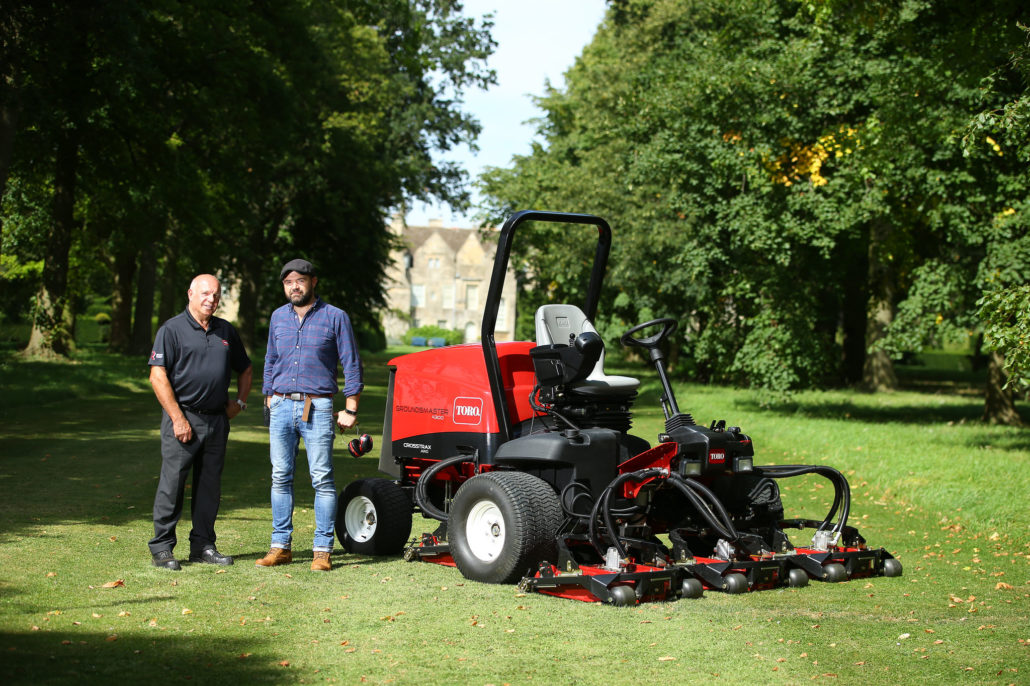 Toro Improves Condition Of Turf At Grimsthorpe Castle