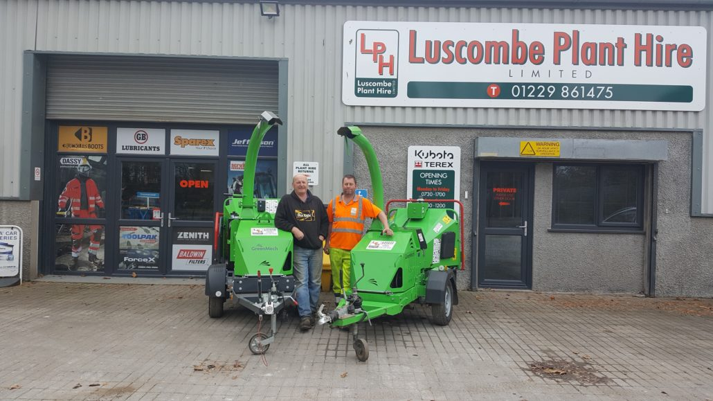 Luscombe Plant Hire Double Up On Their GreenMech Fleet