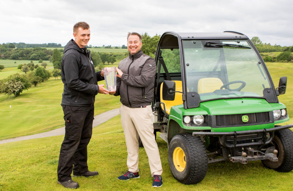 Swedish Greenkeeper Wins Award