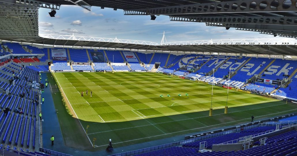 Pitch Renovation At Reading FC
