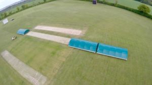 Rain Defender mobile cricket pitch covers the ideal choice for Raskelf CC