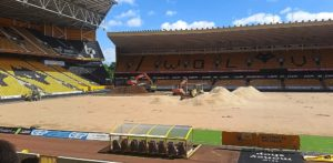 Pitch perfect: Wolves Invest In New Playing Surface