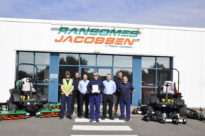 Ransomes Jacobsen Wins RoSPA Gold Medal Award