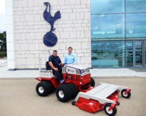 Ventrac Help Maintain Tottenham's Training Centre