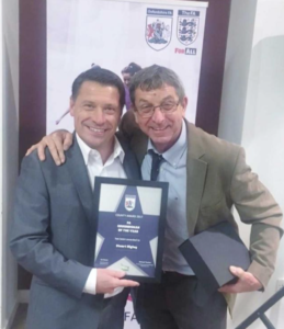 Stuart Higley Wins Oxfordshire FA County Groundsman Of The Year