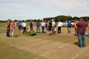 Laurence Gale impressed with Dennis and SISIS Cricket Seminar