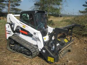 Bobcat Extends Forestry Cutter Attachment Range