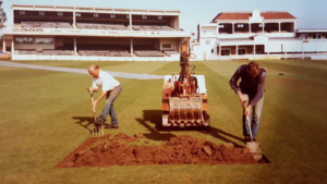 Kent Cricket Pays Its Last Respects To Groundsman