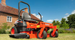 Kubota UK Launches New Domestic Zero Turn Ride-On Mower