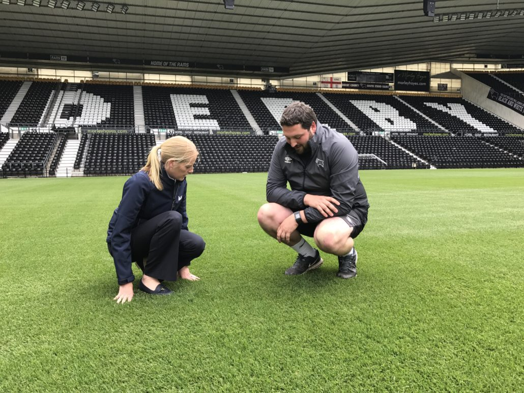 ICL paves the way for more games at  Pride Park