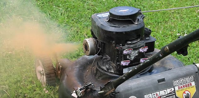YouTuber Cooks Bacon In His Mower's Engine