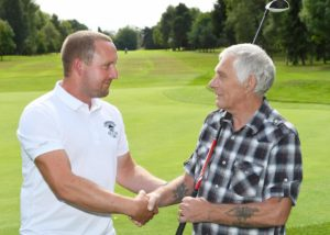 Golfer says 'thanks' to his life-saver
