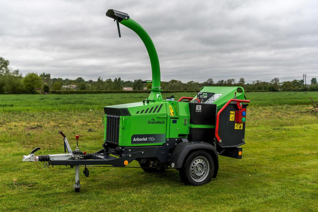 GreenMech To Showcase Arborist 150p At SALTEX