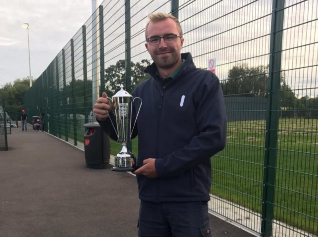 Andy Ward wins Isthmian League Groundsman of the Year