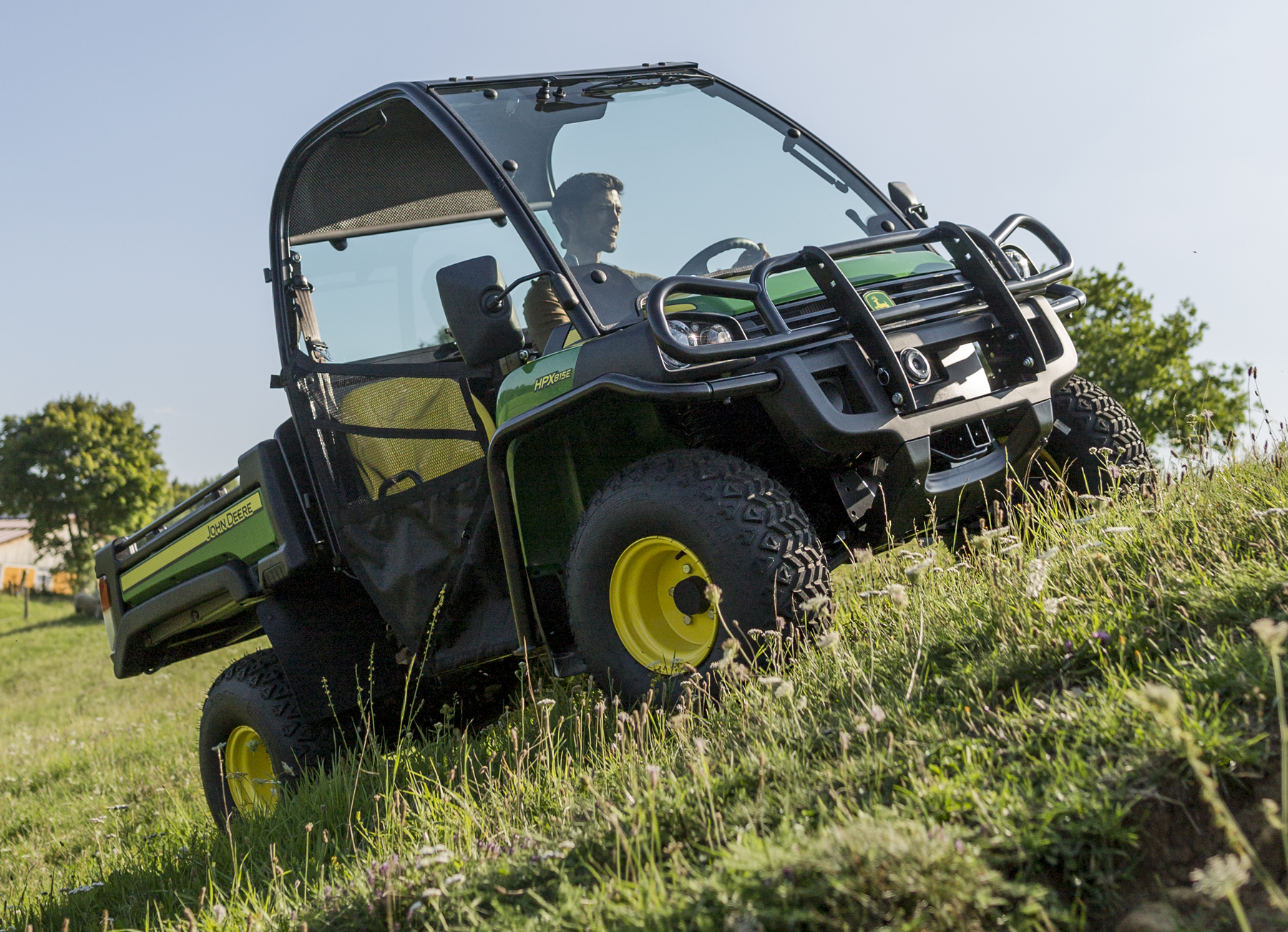 new john deere gator debuts at btme 2018. Black Bedroom Furniture Sets. Home Design Ideas