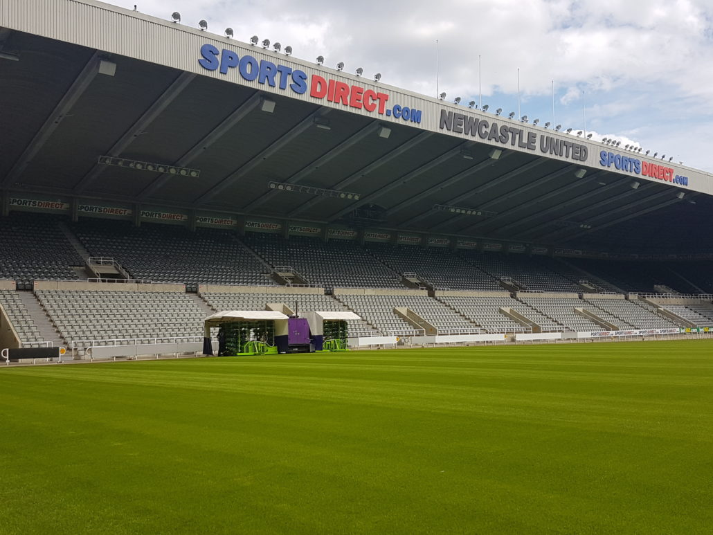 Newcastle Receive Best Pitch In 15 years With MJ Abbott