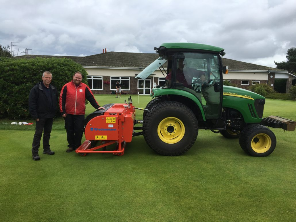 Wiedenmann Terra Spike Makes Aeration Faster For Knighton Heath