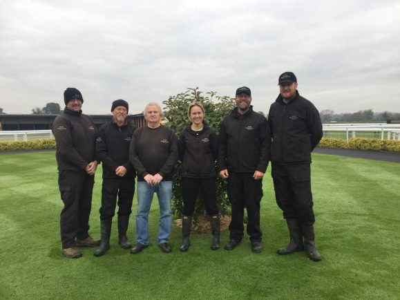 Racecourse Groundstaff Recognised By National Award