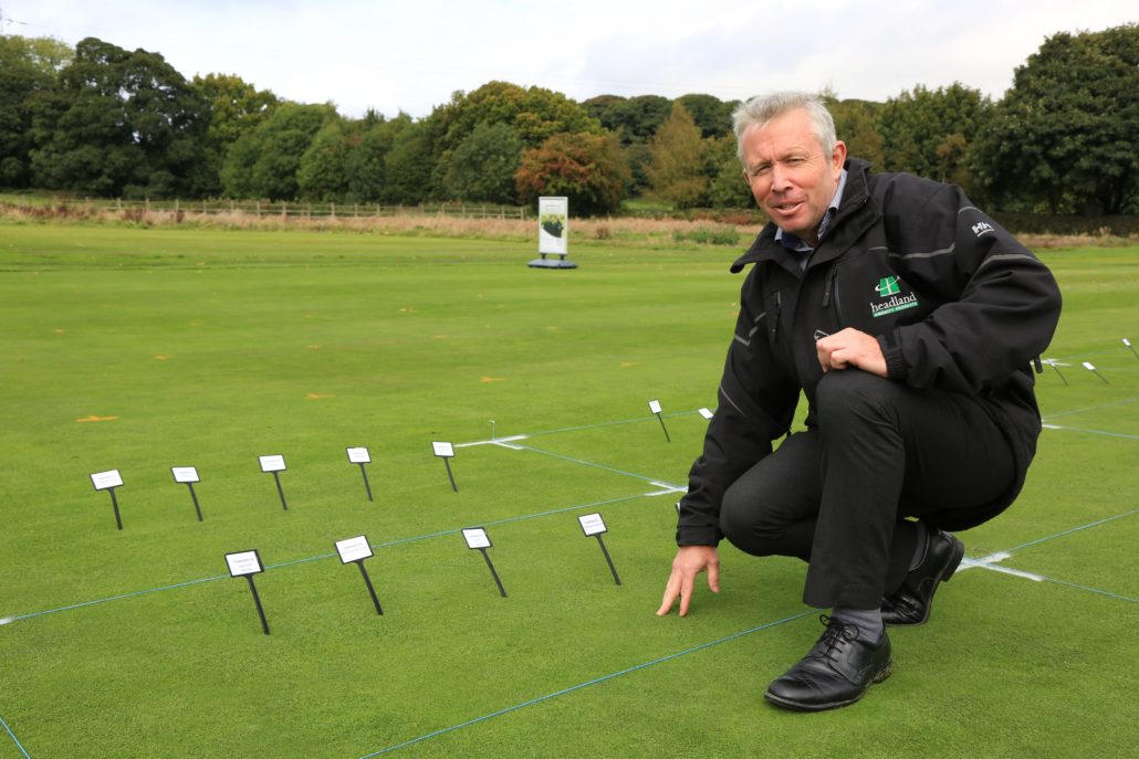 Headland and Bayer At Annual STRI Trials Event