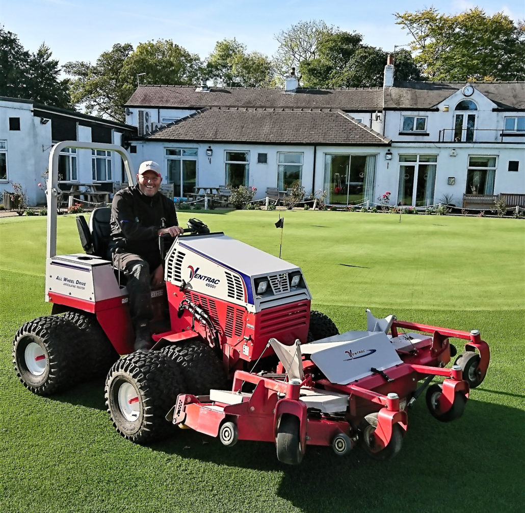 Lees Hall The Latest Golf Club To Purchase Ventrac 4500