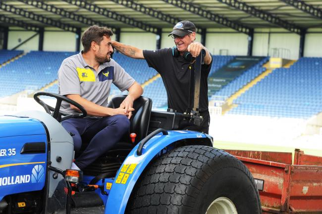 Oxford United Groundsman On A Career In Grass