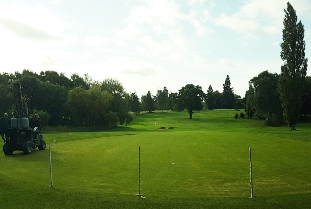 New Life For Old Greens With Terrain Aeration