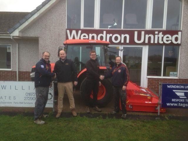 Wendron United Receive Grant