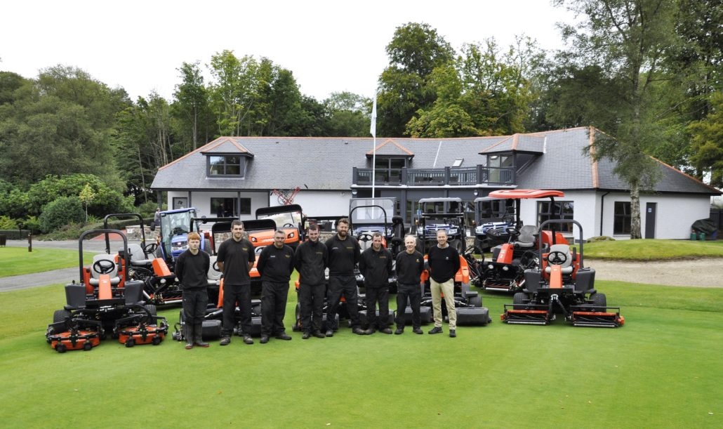 Textron Golf Keeps Meldrum Peaceful