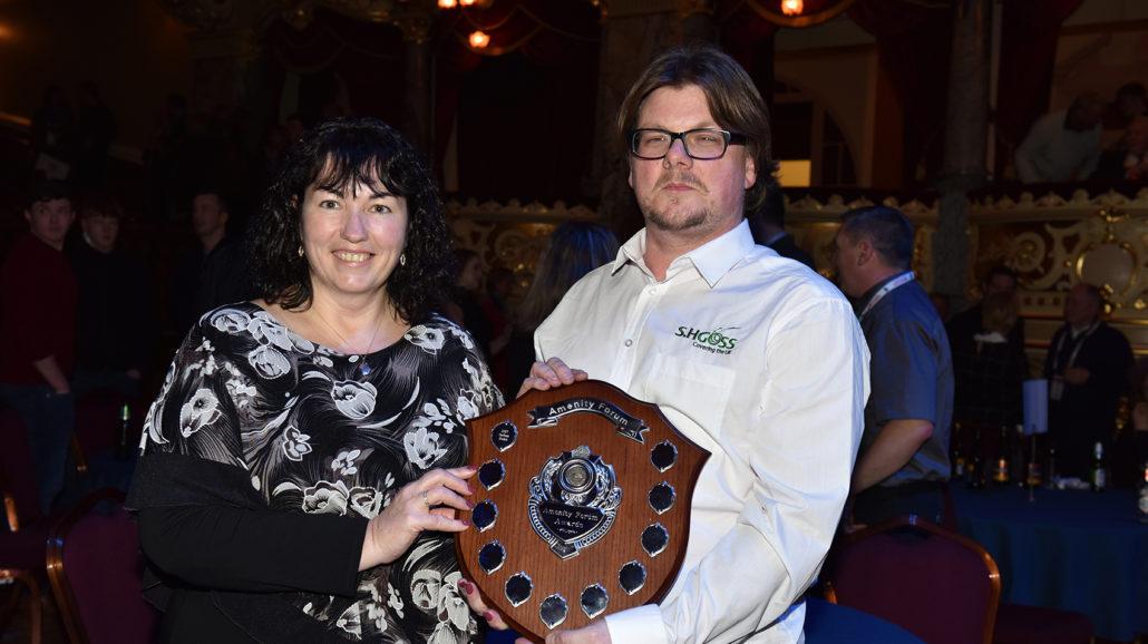 Nathan Hume Wins Sprayer Award