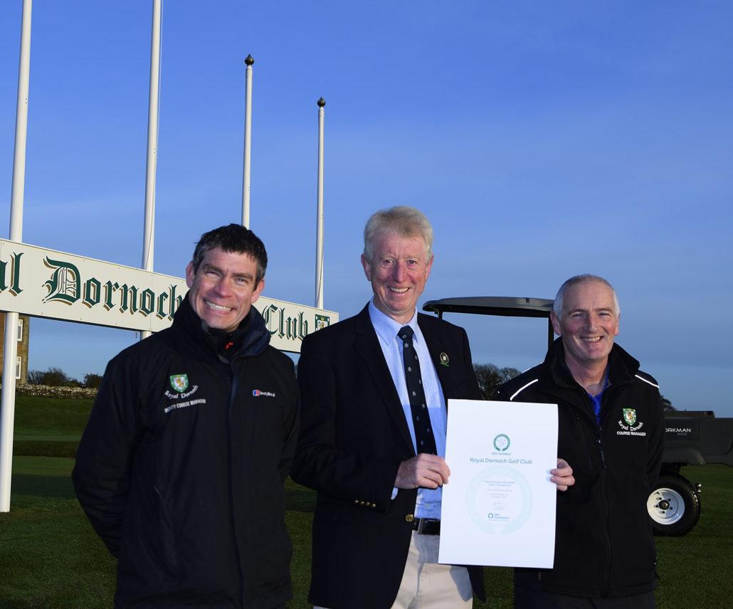 GEO Award For Royal Dornoch