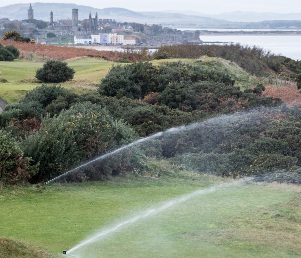 Irrigation At St Andrews