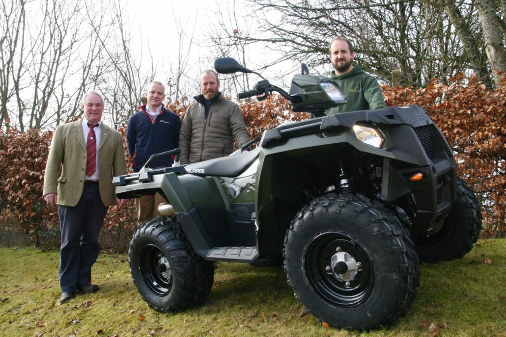 Gamekeeper Wins Polaris ATV