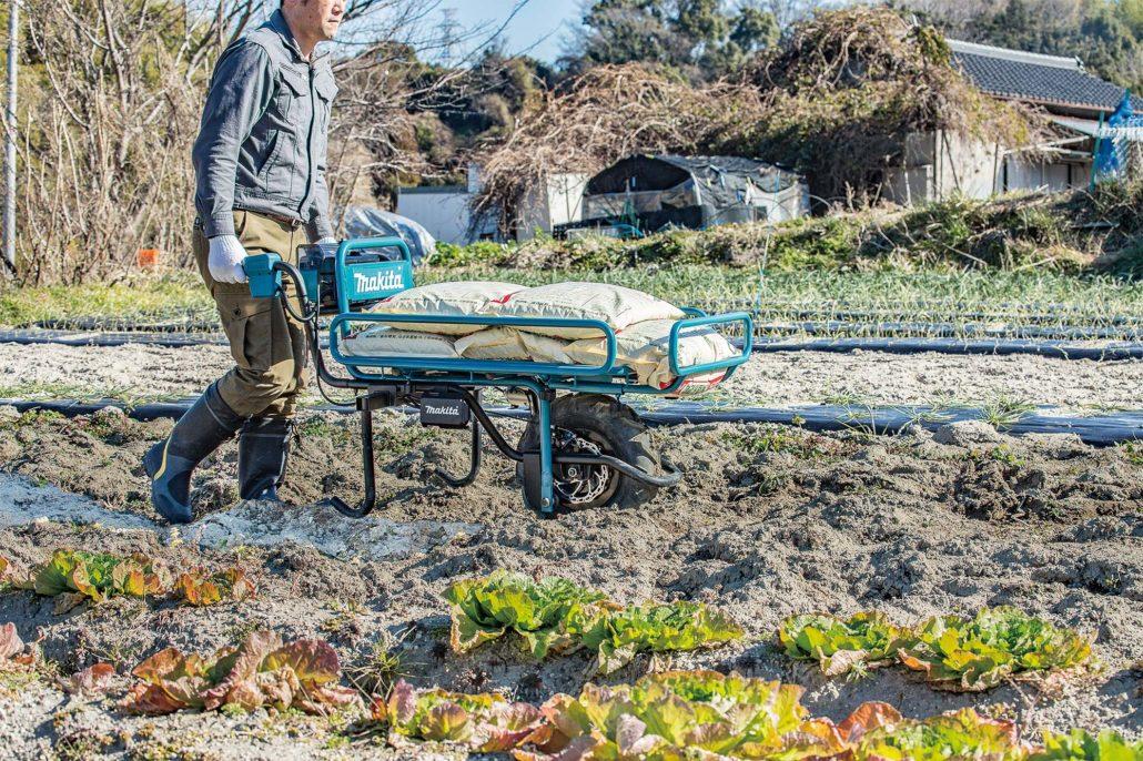Wheelbarrow Effort Cut By Makita