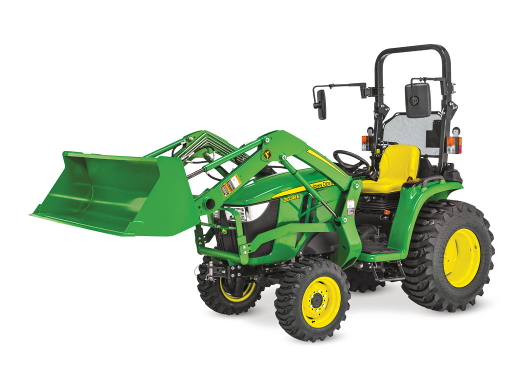 New Tractor From John Deere