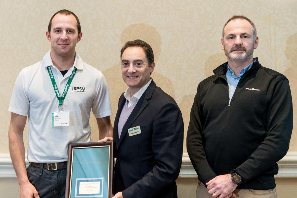 Rain Bird Award For MJ Abbott