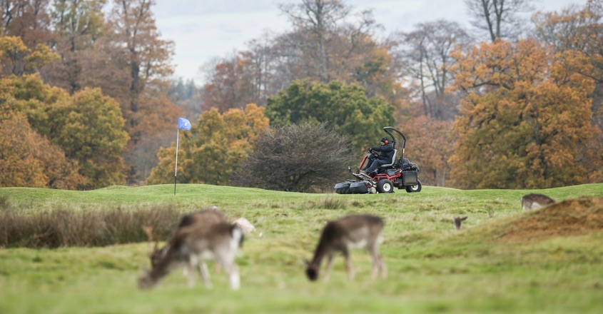Fast Greens At Knole Park GC