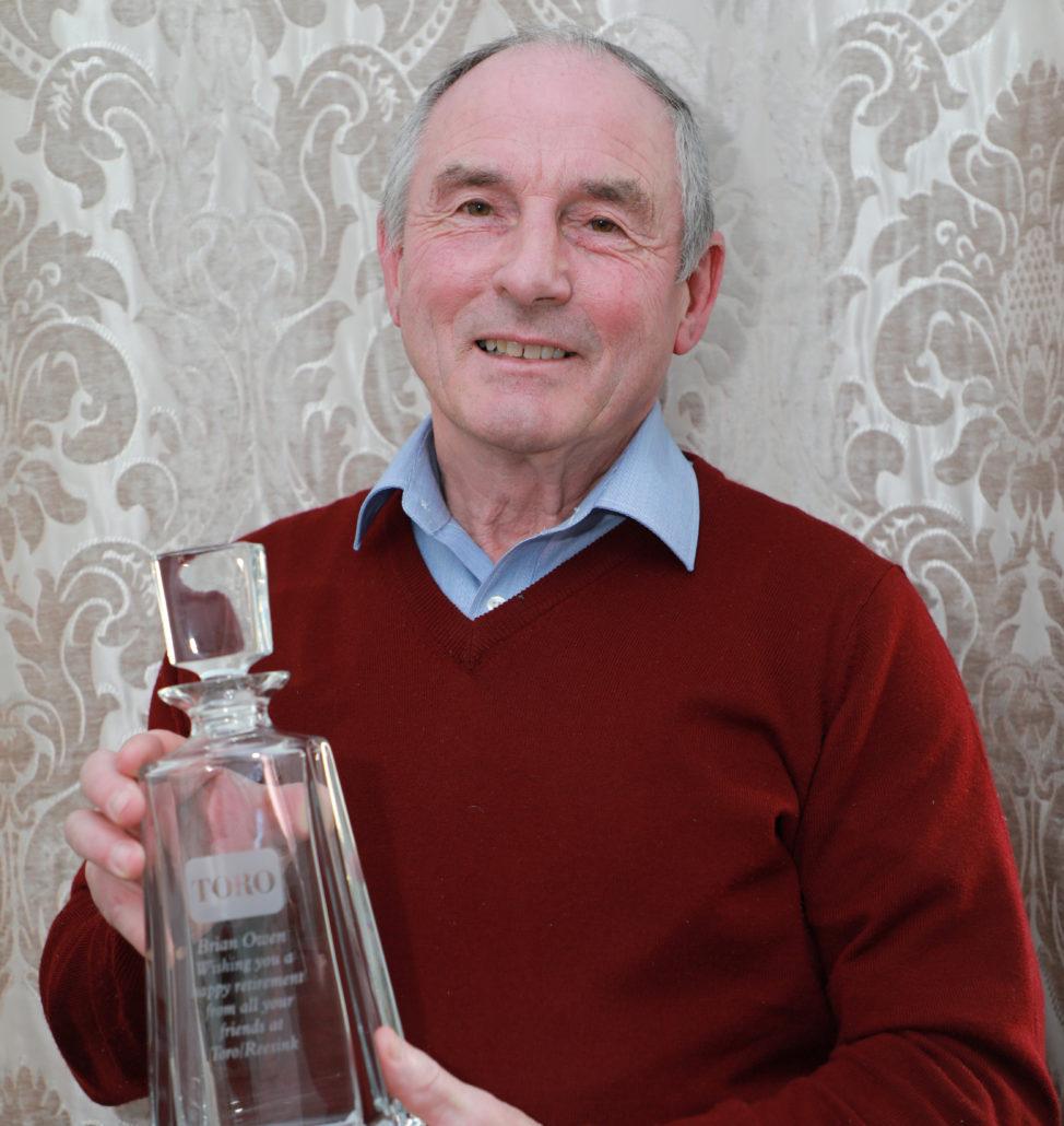 Course Manager Brian Owen Retires
