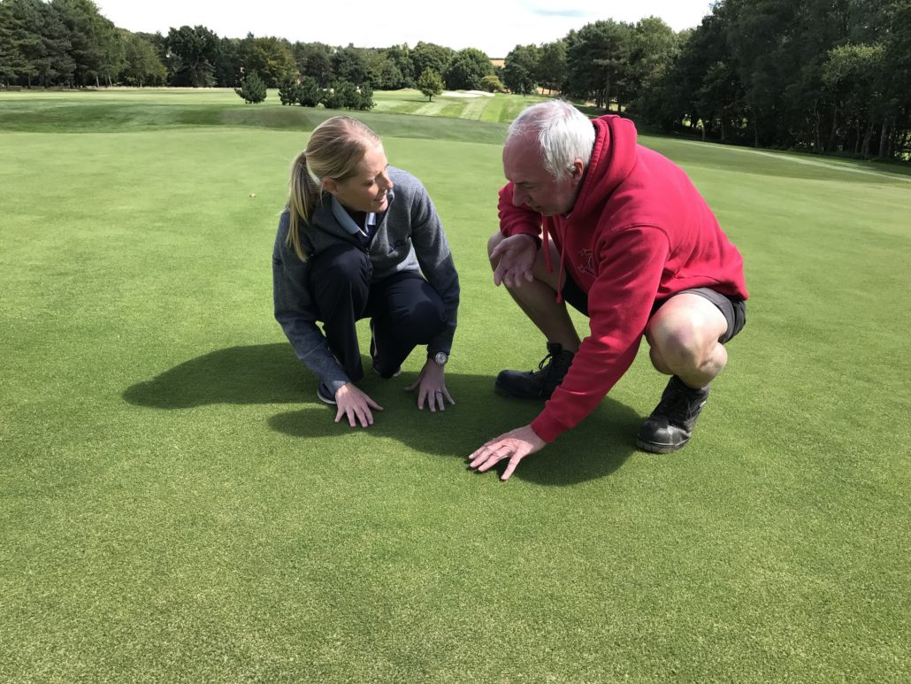 ICL Cure Greens At Blackwell GC