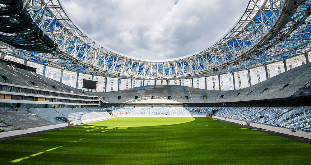World Cup Surface Not Ready