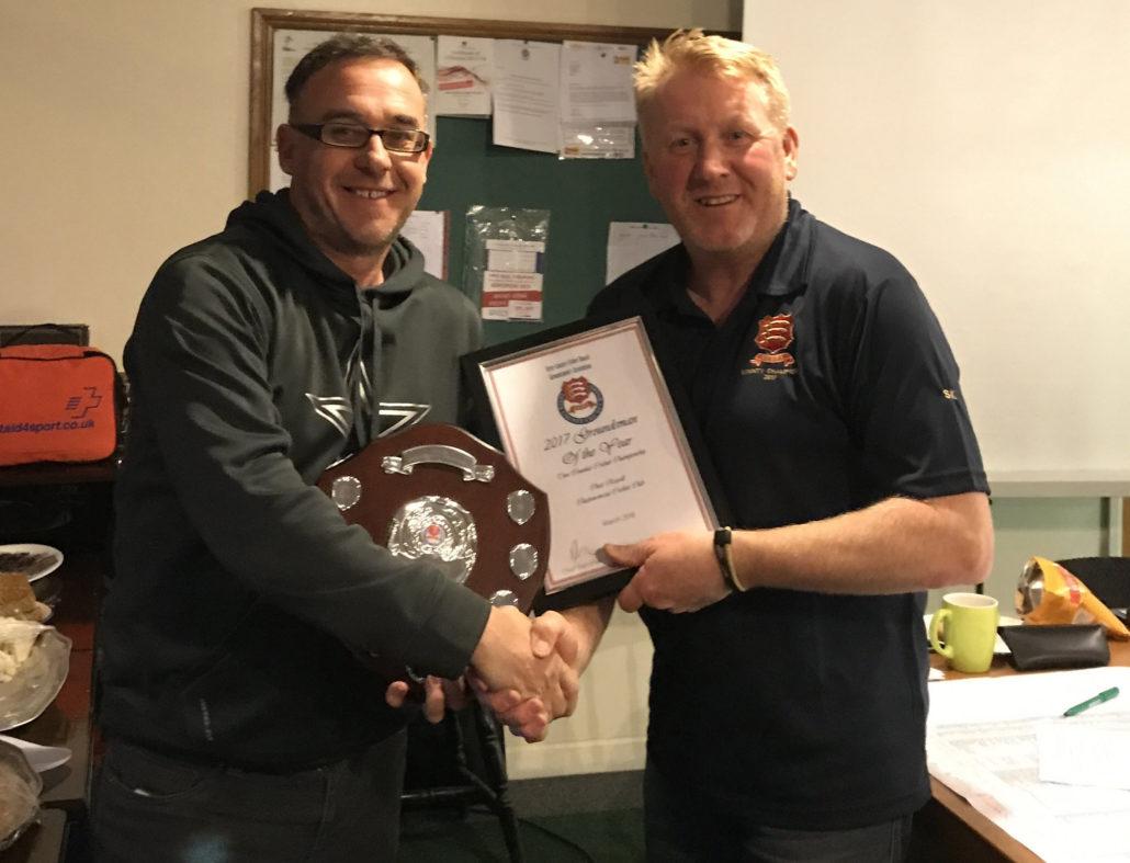 Award For Council Groundsman