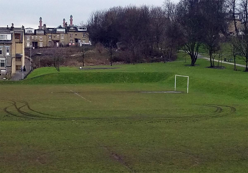 Club's Anger At Pitch Vandalism