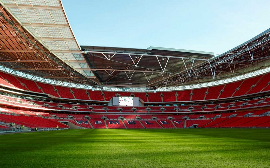 New Wembley Pitch Ahead Of Euros