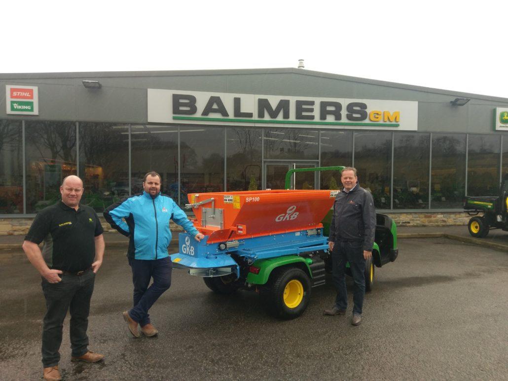Balmers Join GKB Dealer Network