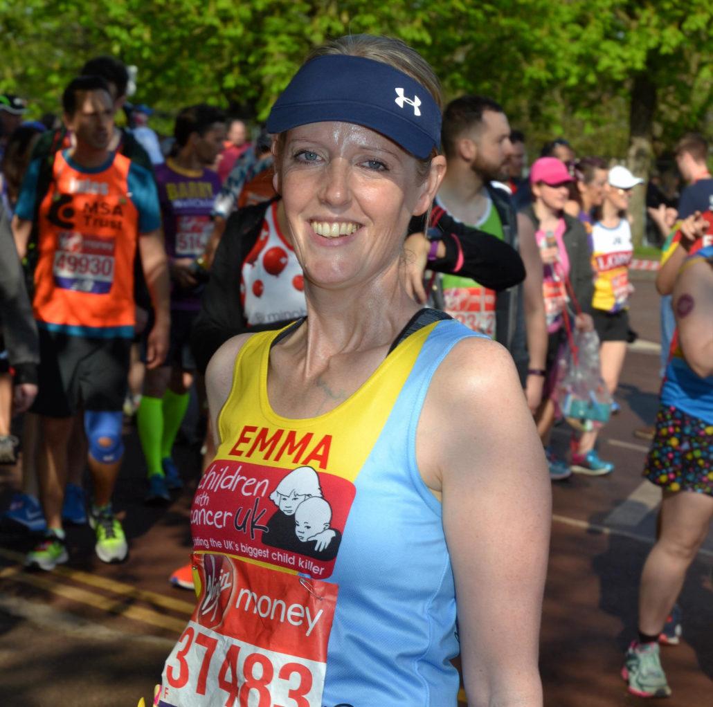 Emma Kilby's Marathon Success