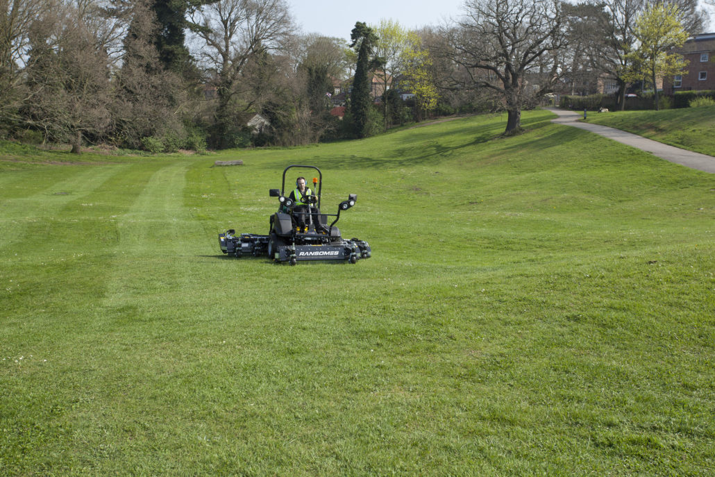 Ransomes HM600 Launch