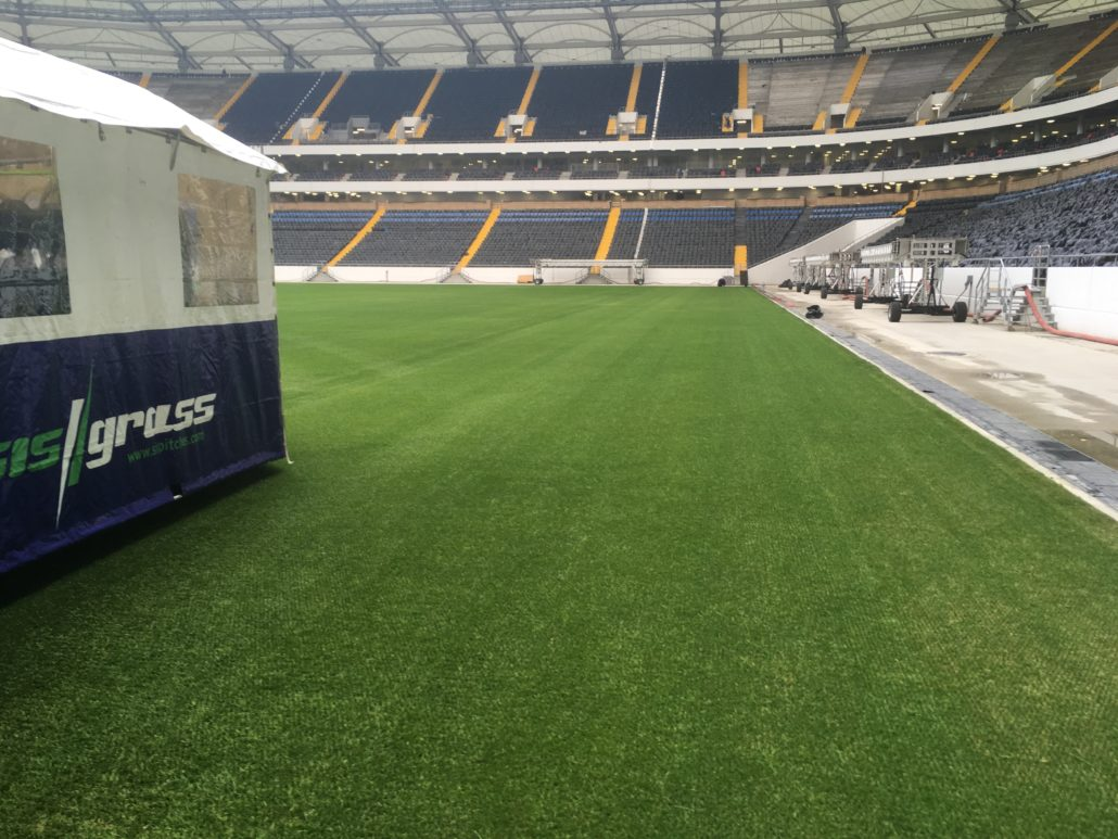 Rostov Pitch Ready For Action