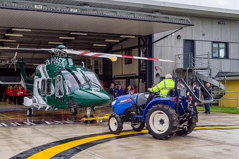 Dealer Helps Cornwall Air Ambulance
